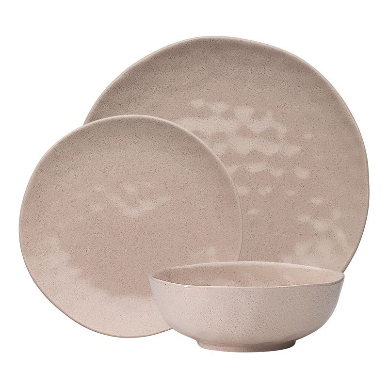 Ecology – Cheesecake Speckle 12pc Dinnerset – Premium Stoneware