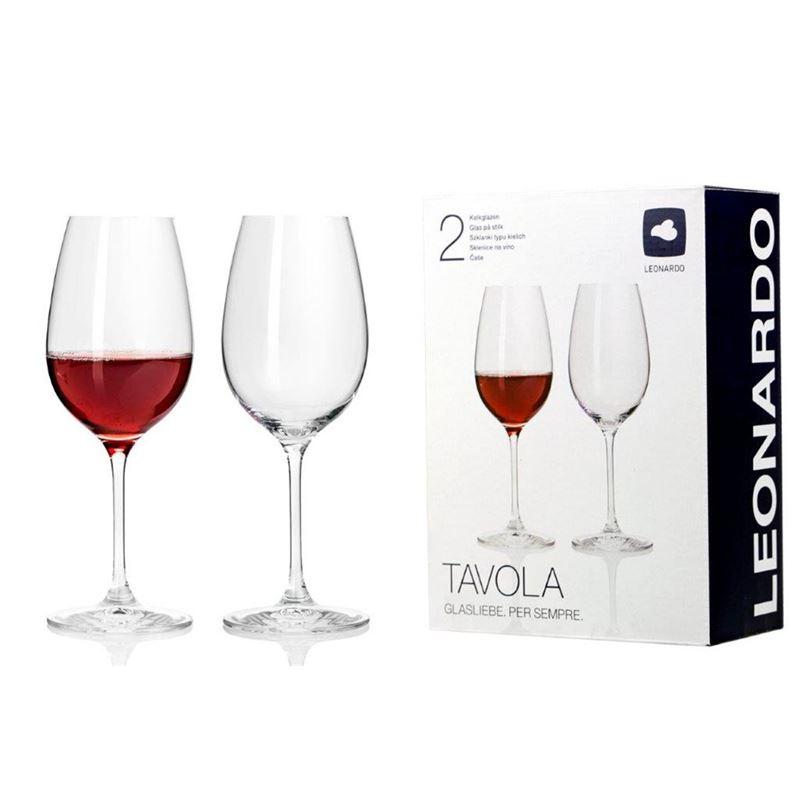 Leonardo – Tavola Red Wine Glass 450ml Set of 2 (Made in Europe)