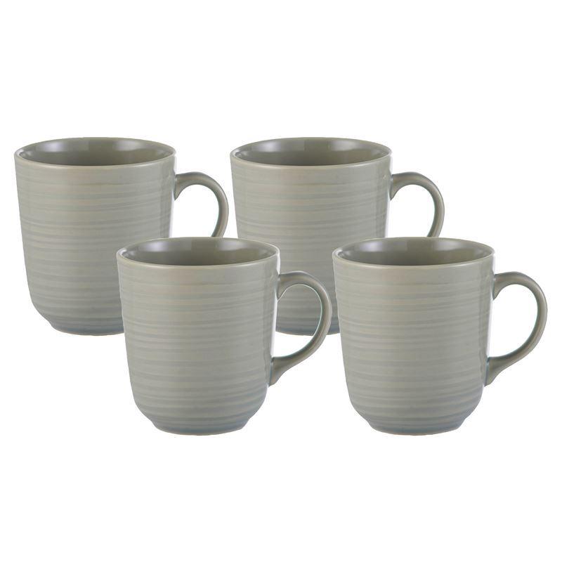 Mason Cash – William Mason 4pc Stoneware Mug Grey