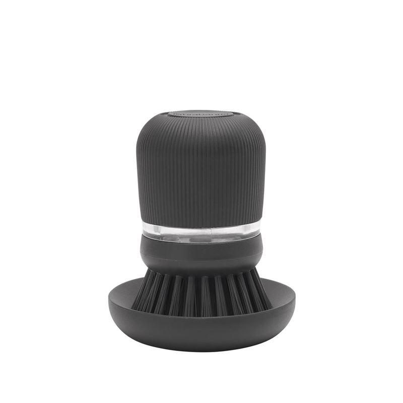 Brabantia – Soap Dispensing Dish Brush Dark Grey