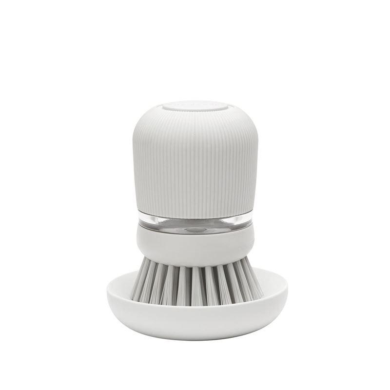 Brabantia – Soap Dispensing Dish Brush Light Grey