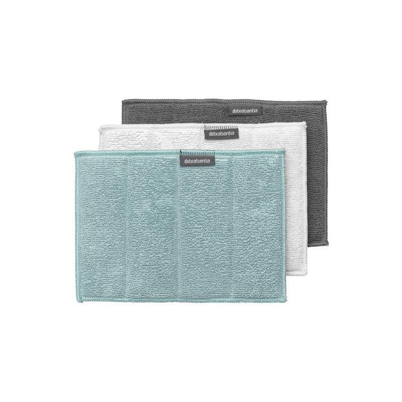 Brabantia – Microfibre Cleaning Pads 16x22cm Set of 3
