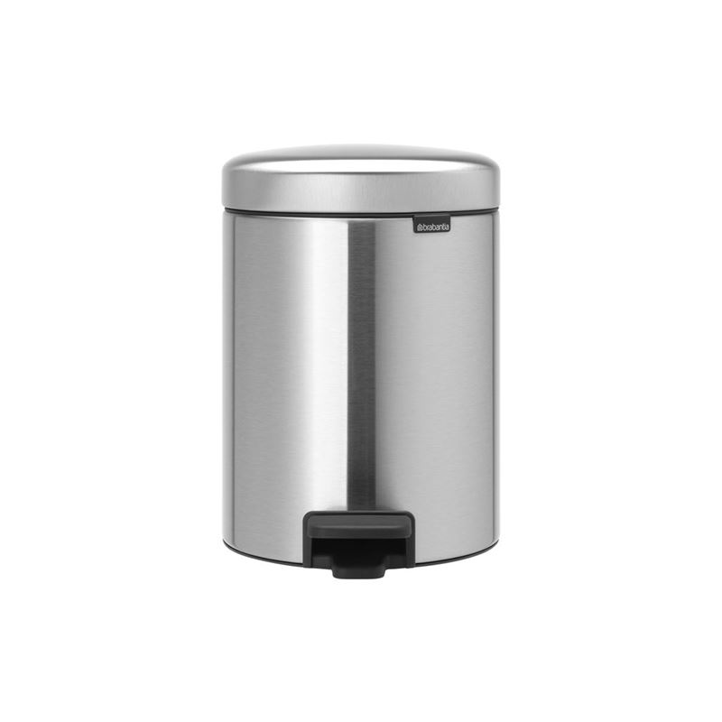 Brabantia – newICON Pedal Bin 2x2Ltr Matt Steel