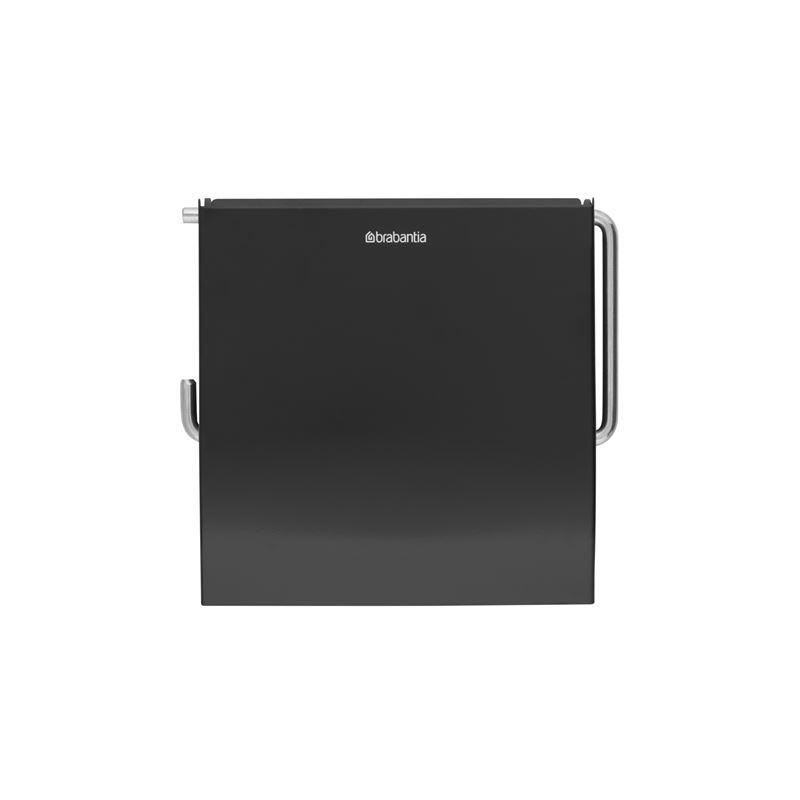 Brabantia – ReNew Toilet Roll Holder Matt Black