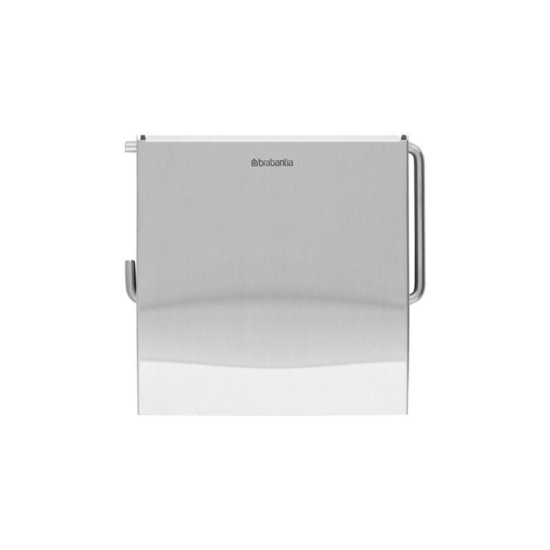 Brabantia – ReNew Toilet Roll Holder Matt Steel
