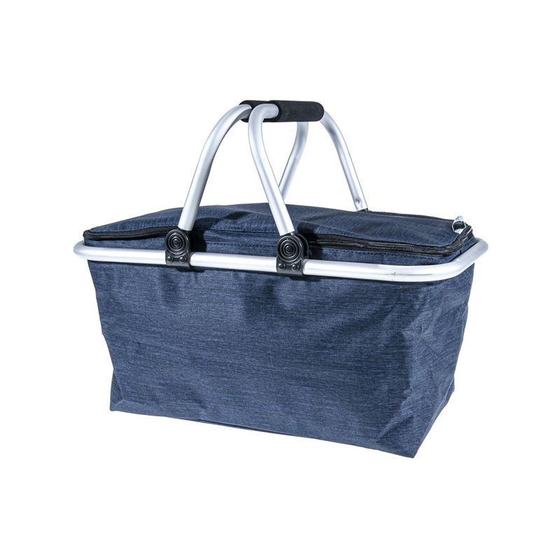 Zuhause – Kurtis Insulated Foldable Basket 48x28x24cm Midnight Blue