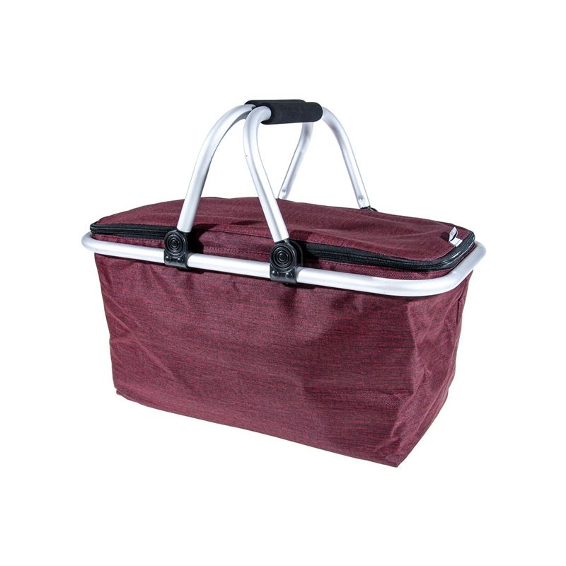 Zuhause – Kurtis Insulated Foldable Basket 48x28x24cm Raspberry