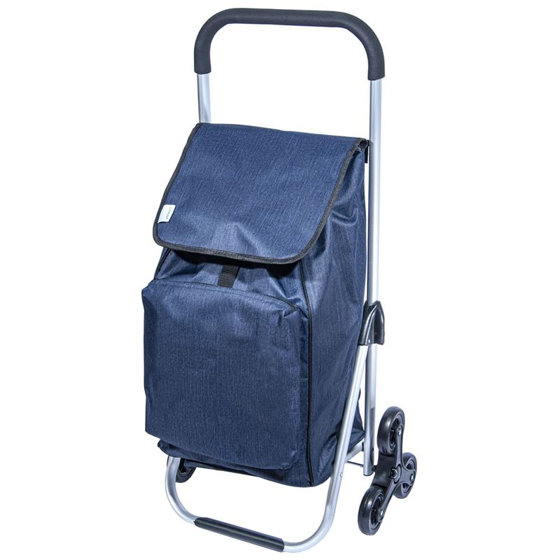 Zuhause – Kool Premier Shopping Trolley 47x33x97cm Midnight Blue