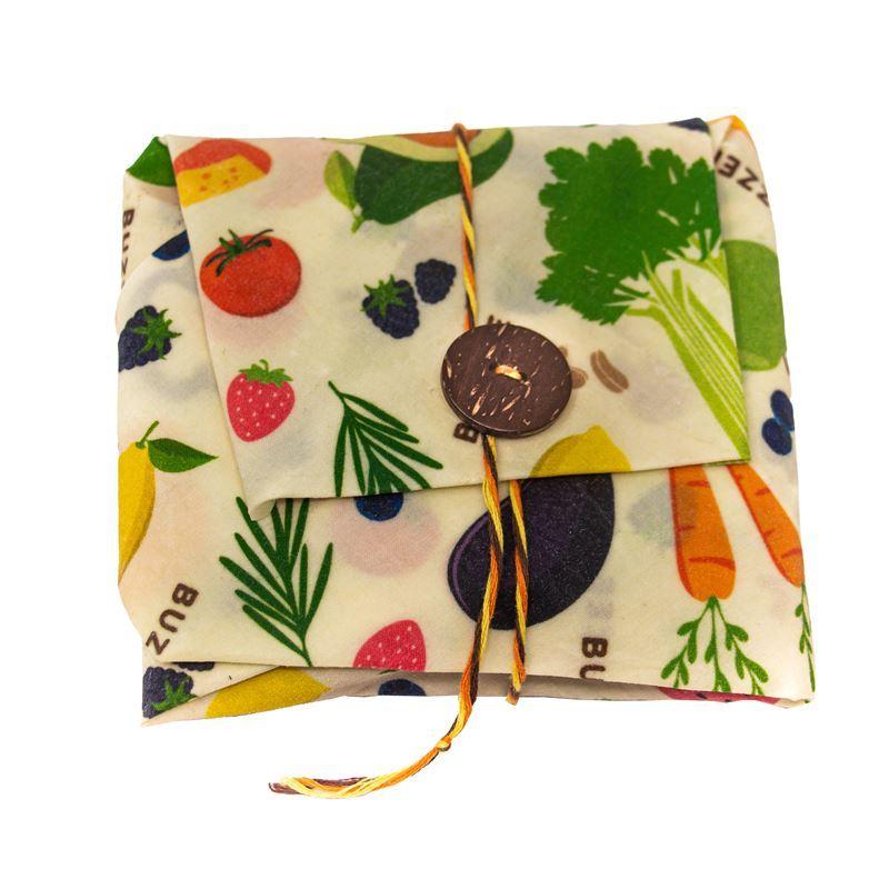Buzzee – Organic Beeswax Wrap Sandwich Wrap Harvest