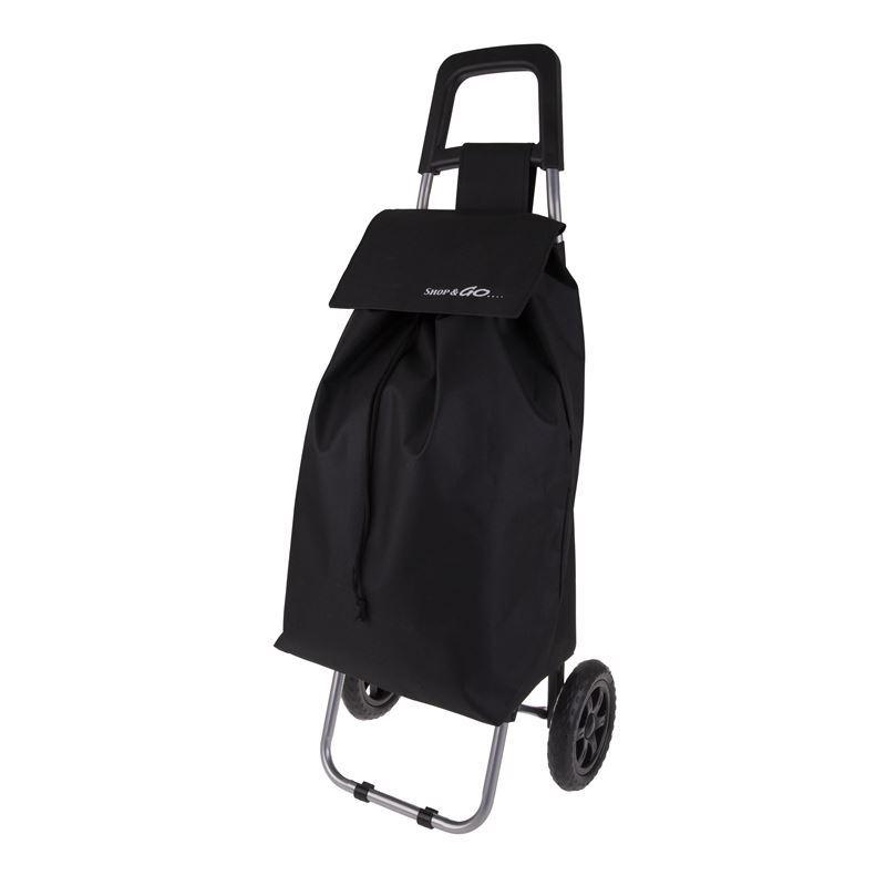 Shop & Go – Clio Shopping Trolley Black