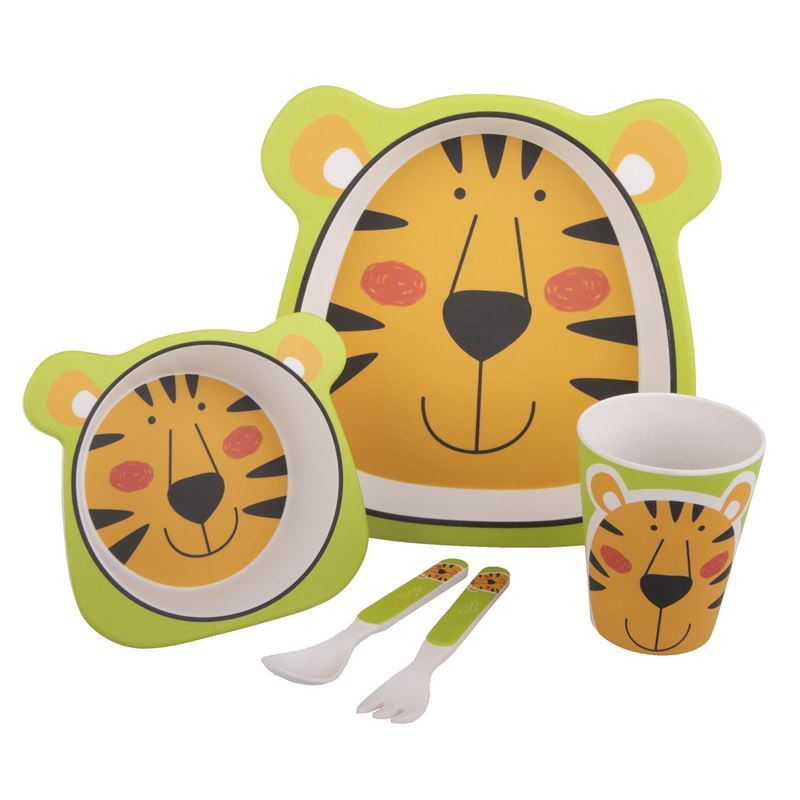 Bambeco – Bamboo Kids Meal Set Tiger