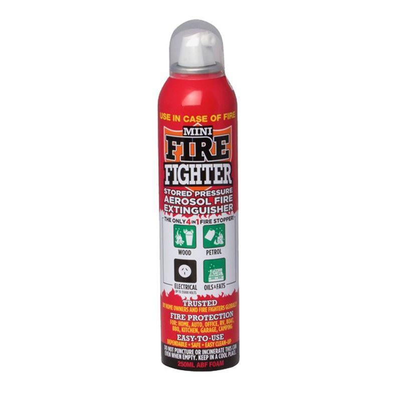 The Mini Fire Fighter – Foam Fire Fighter Can
