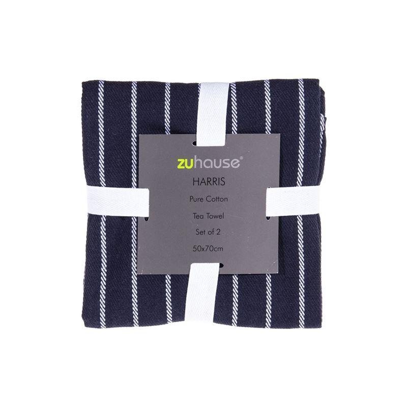 Zuhause – Harris Pure Cotton Set of 2 Tea Towels 50x70cm