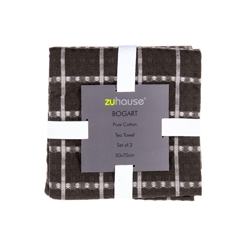 Zuhause – Bogart Pure Cotton Set of 2 Tea Towels 50x70cm