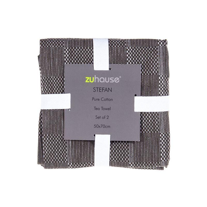 Zuhause – Stefan Pure Cotton Set of 2 Tea Towels 50x70cm