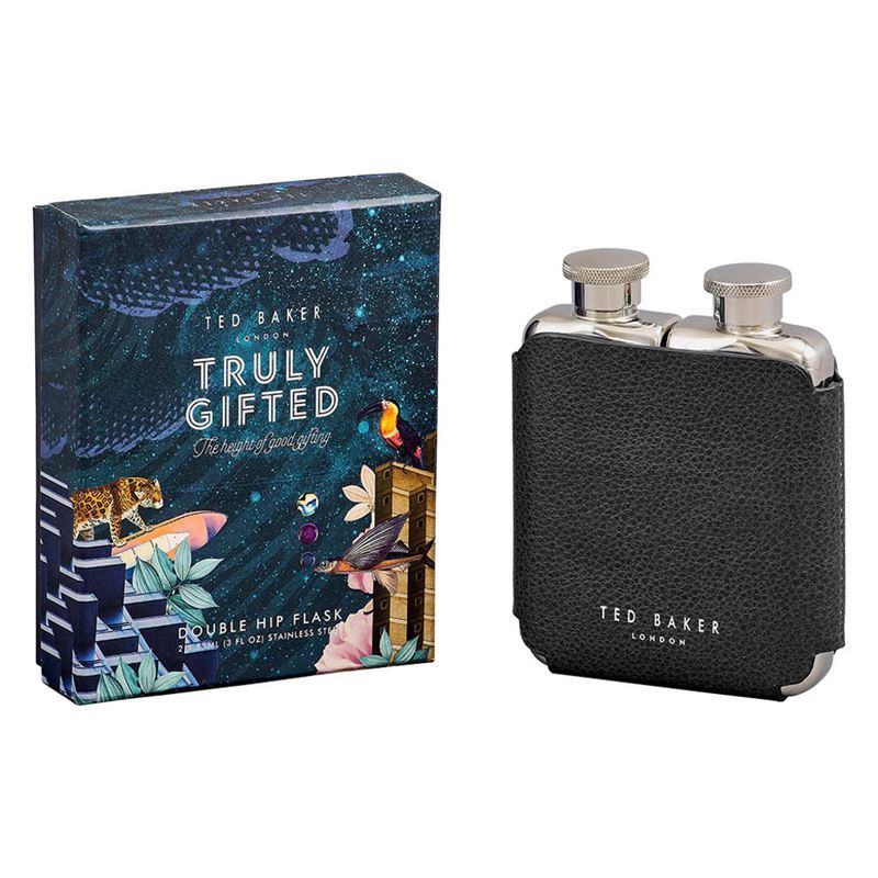 Ted Baker – Double Hip Flask 2x 85ml