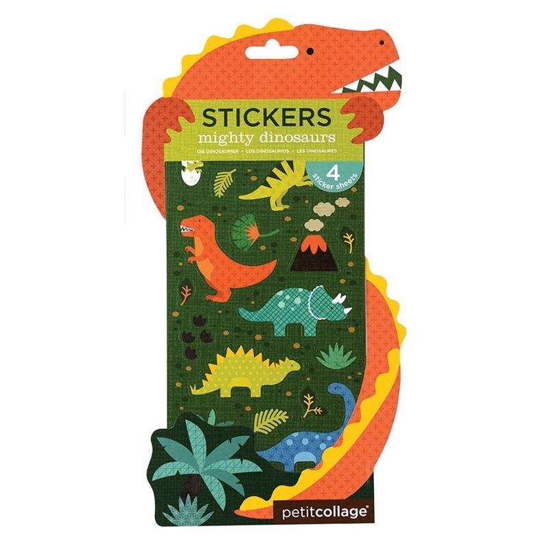 Petit Collage – Dinosaur Stickers