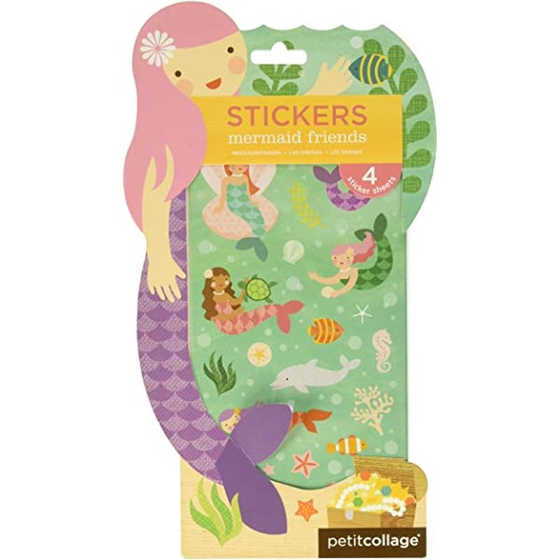 Petit Collage – Mermaid Stickers