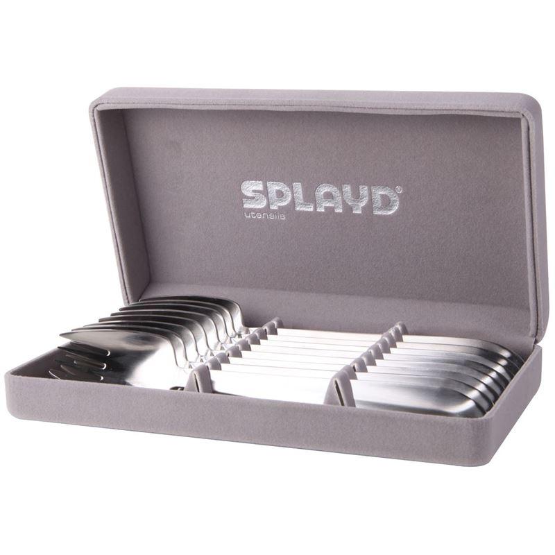 Splayd – Luxury Stainless Steel Satin Finish Set of 8