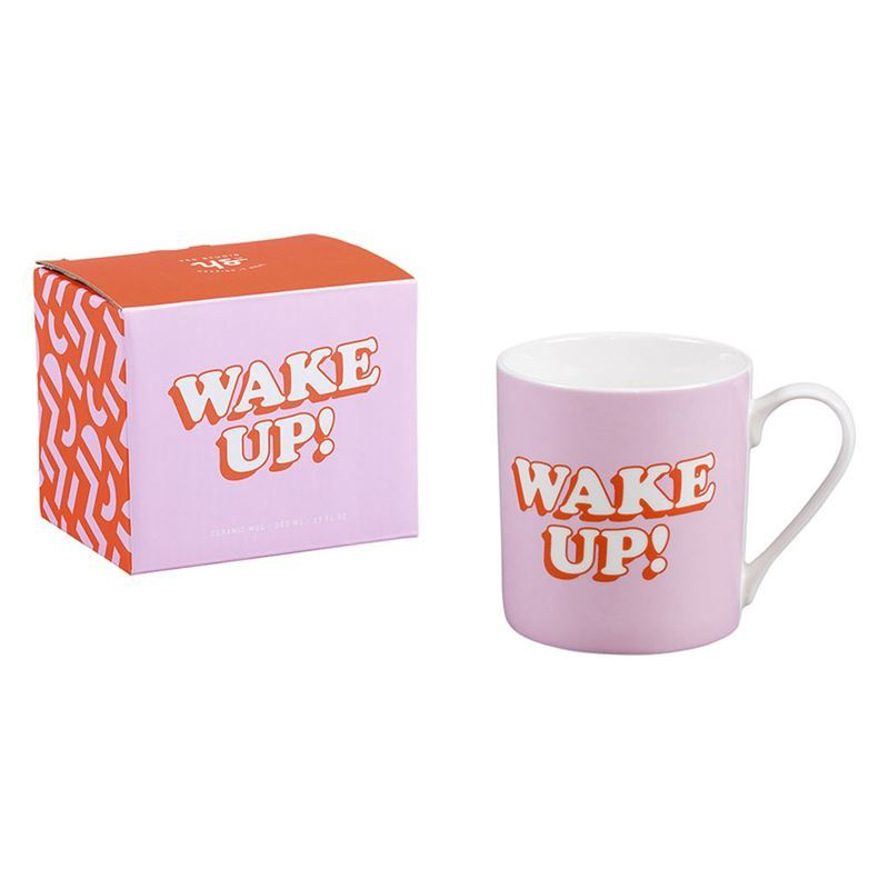 Yes Studio – Ceramic 380ml Mug Wake Up