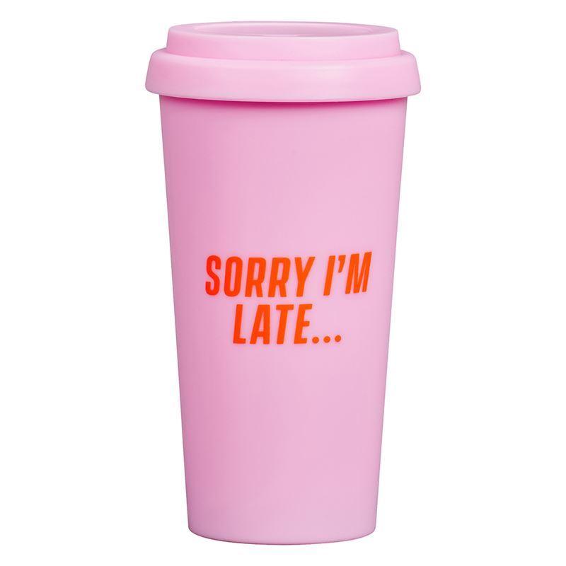 Yes Studio – Travel Mug Sorry I'm Late 470ml
