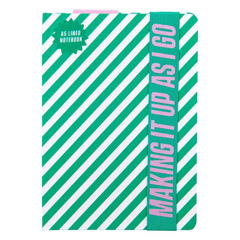 Yes Studio – A5 Notebook Making it Up