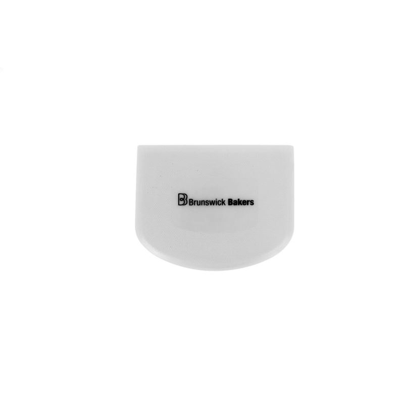 Brunswick Bakers – White Dough Scraper 13.5×9.5cm