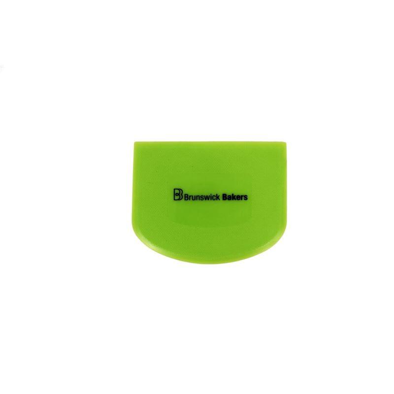 Brunswick Bakers – Green Dough Scraper 13.5×9.5cm