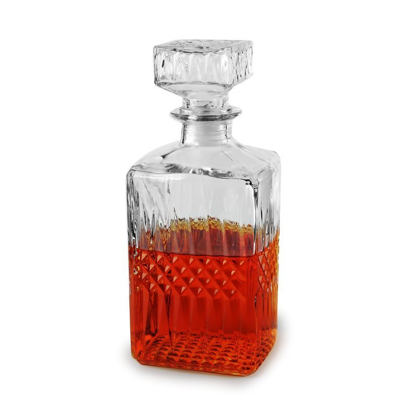 Circleware – St Tropez 1Ltr Decanter with Glass Stopper