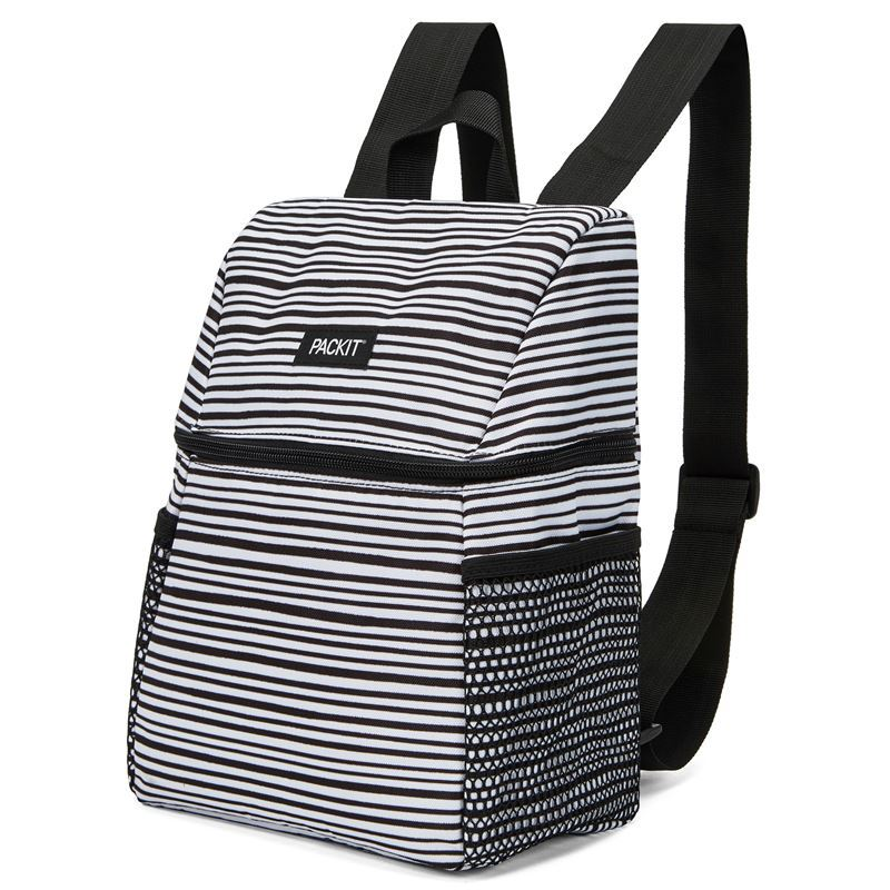 Packit – Freezable Lifestyle Backpack Lunch Bag Wobbly Stripe