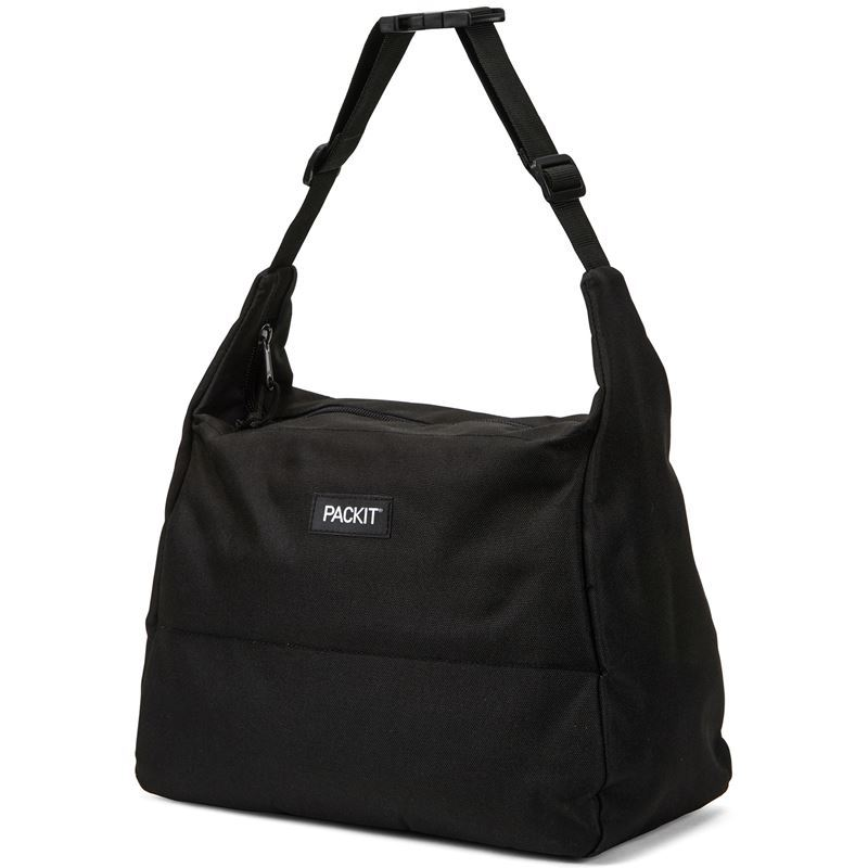 Packit – Freezable Hobo Bag Black