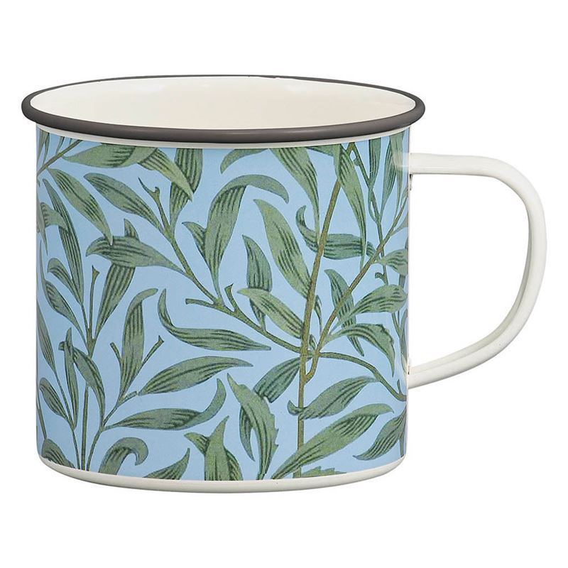 V & A – Leaf Enamel Mug 400ml