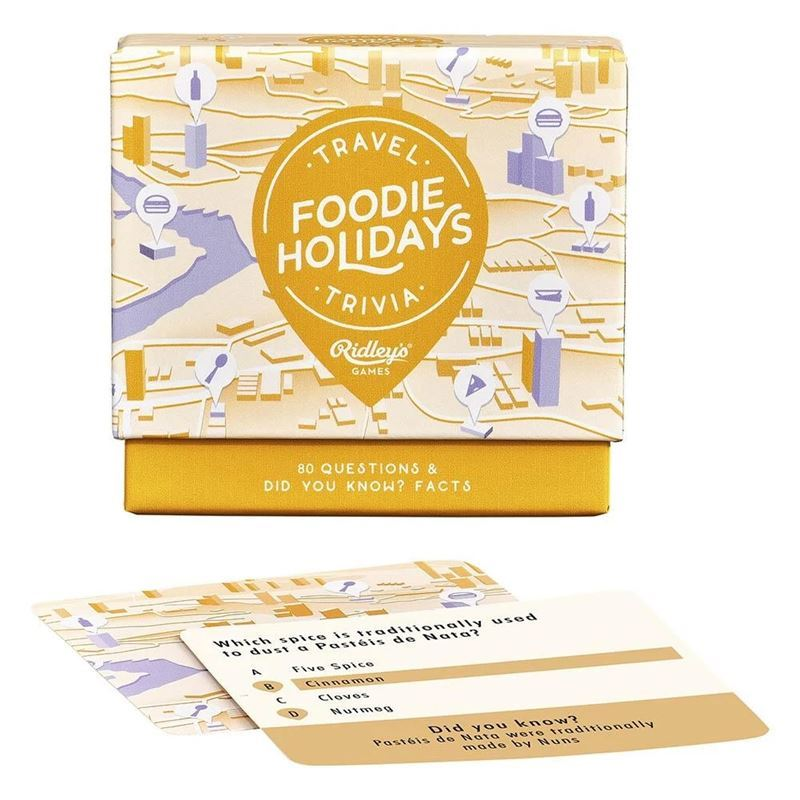 Ridley's Games – Foodie Holiday Trivia