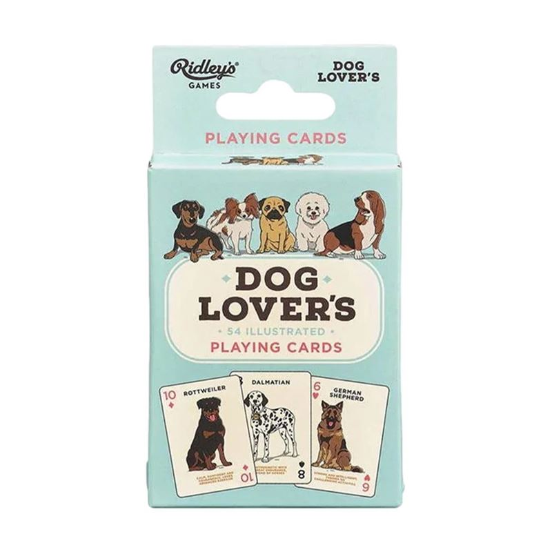 Ridley's Games – Dog Lover's Playing Cards