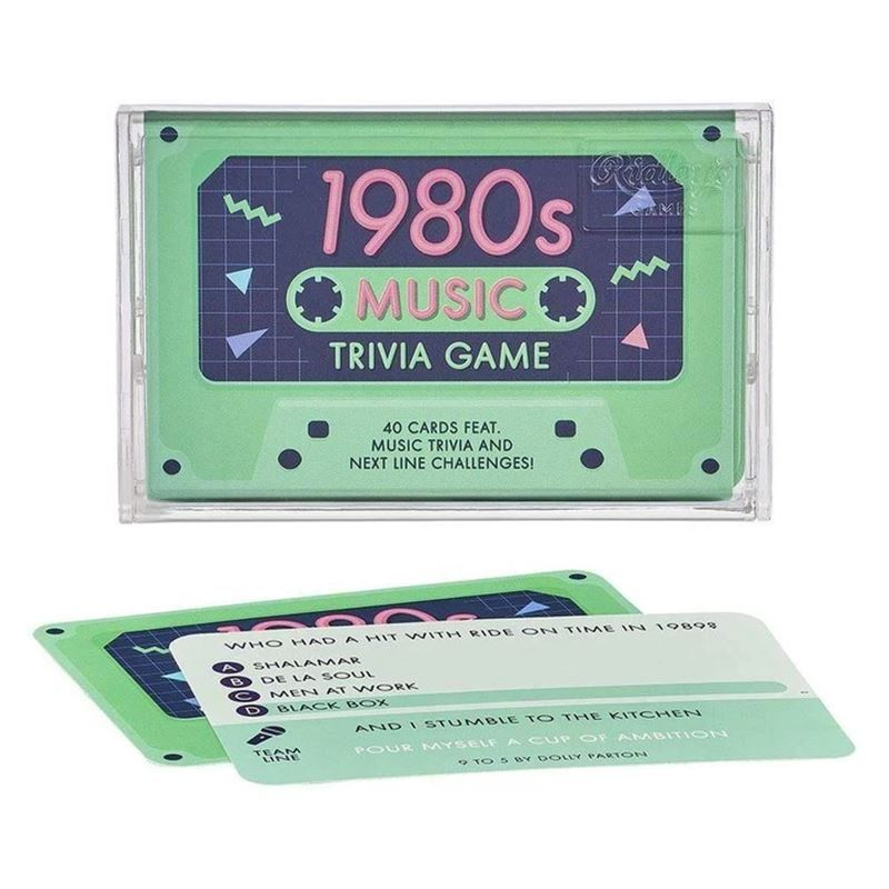 Ridley's Games – 1980's Trivia Game in Box