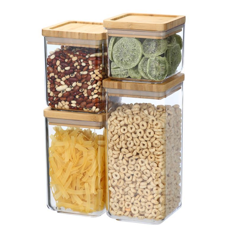 Benzer – Module Square Container Set of 4