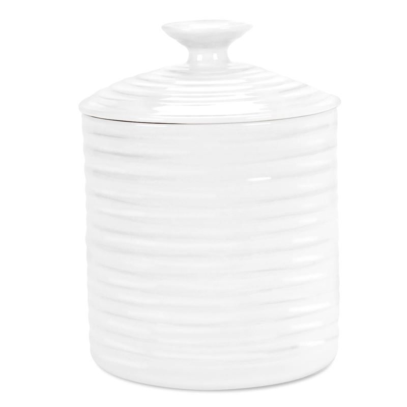 Sophie Conran for Portmeirion – Ice White Small Storage Jar 10.5cm