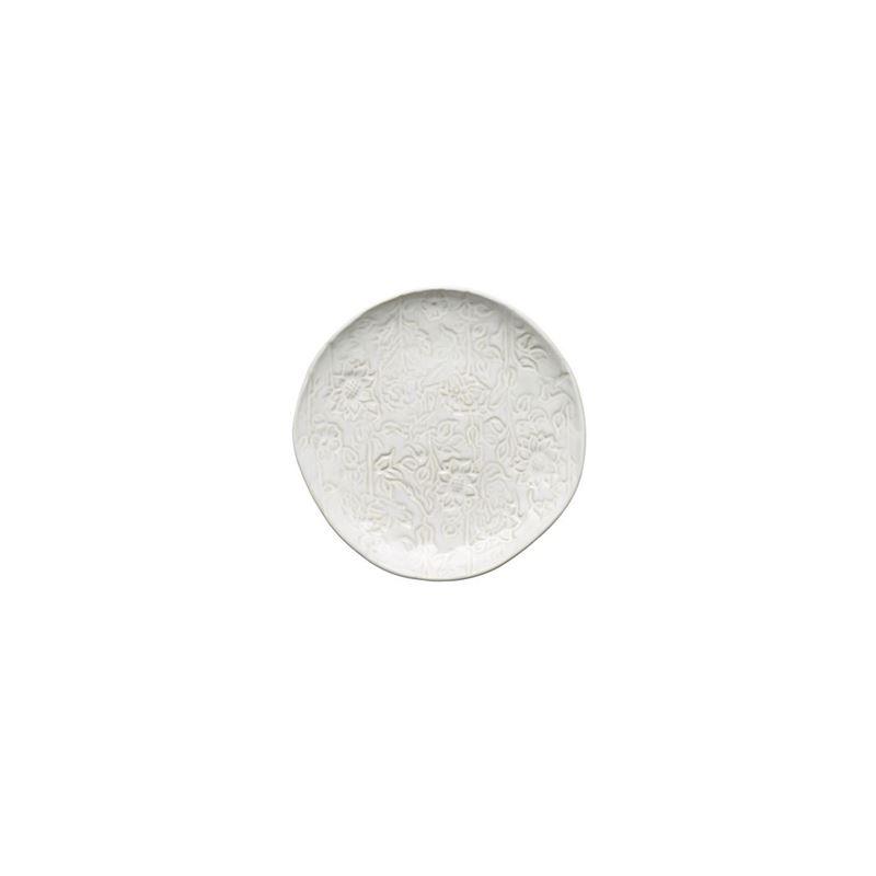 Tablekraft – Vilamoura Goa Blanc Round Plate 21cm Coupe