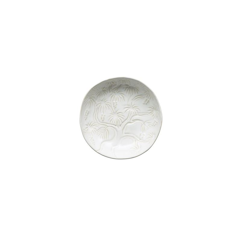 Tablekraft – Vilamoura Goa Blanc Round Bowl Flared 21.5x5cm