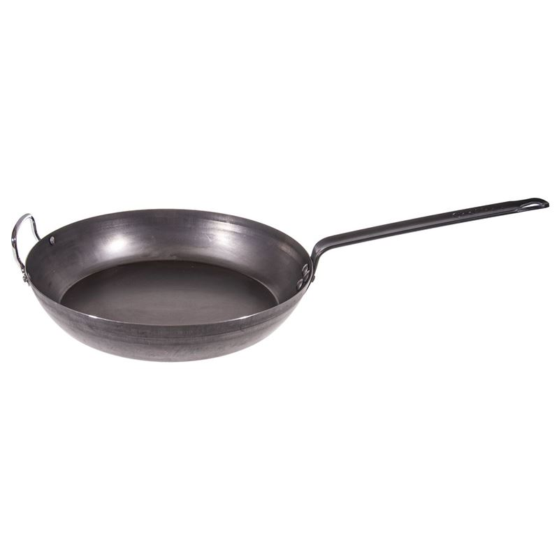 Chef Inox – La Lyonnaise Blue Steel Frypan 32cm