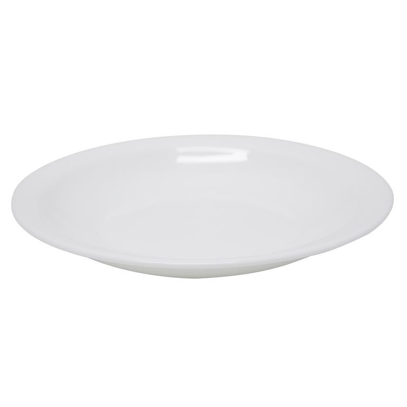 Bormioli Rocco – Performa Opal Toughened Glass Round Pasta/Soup Plate 23cm