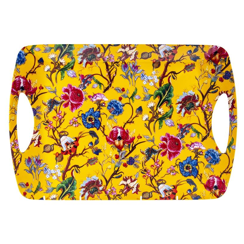 Nostalgic – Luxury Handled Serving Large Tray Anthina 47x33cm Yellow