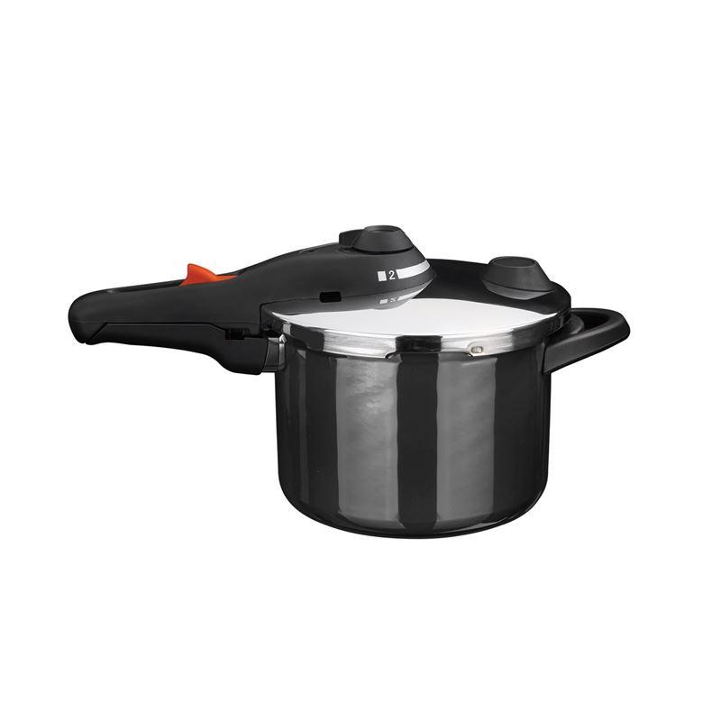 Kochstar – Enamel Pressure Cooker 22cm 4.5Ltr Black (Made in Germany)