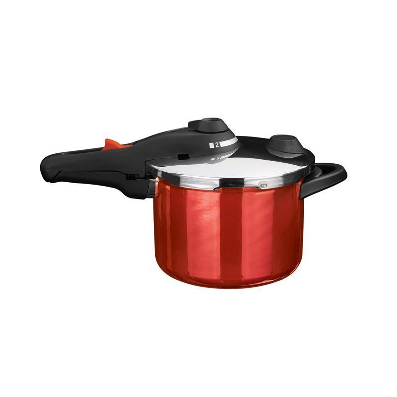 Kochstar – Enamel Pressure Cooker 22cm 4.5Ltr Red (Made in Germany)
