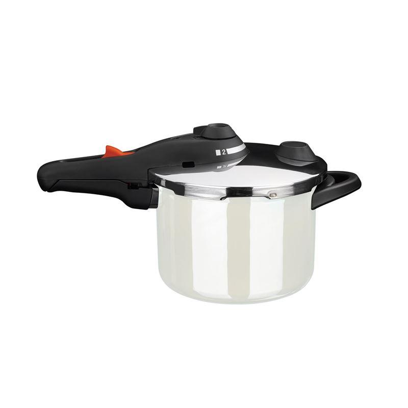 Kochstar – Enamel Pressure Cooker 22cm 6Ltr White (Made in Germany)