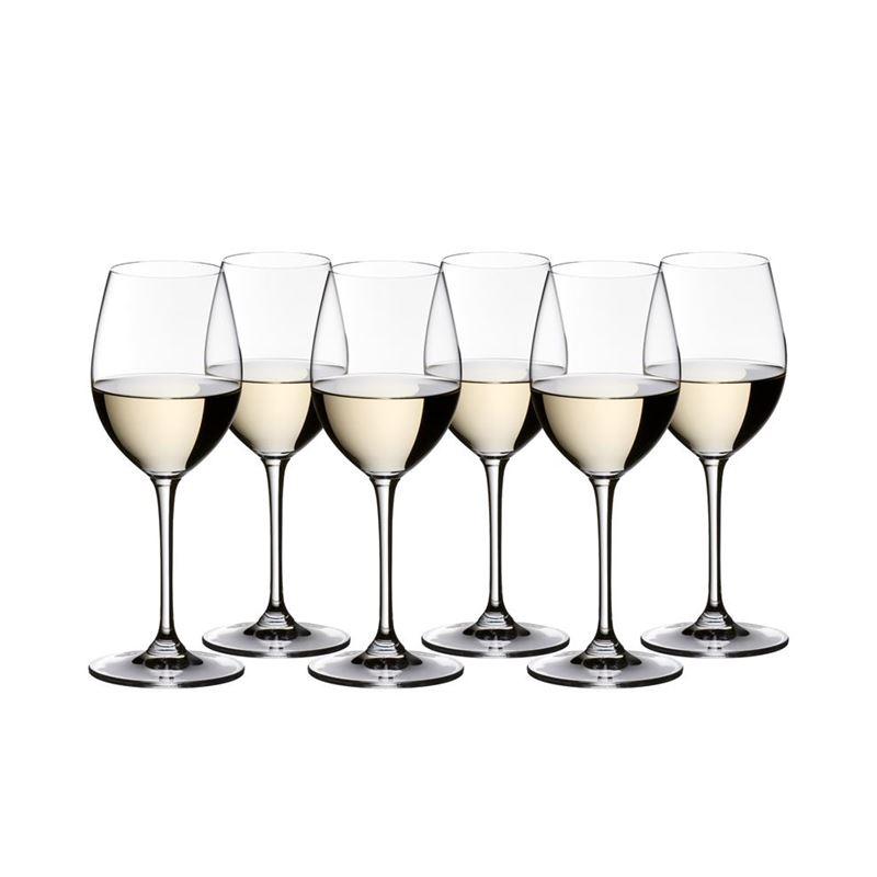 Riedel Vinum – Sauvignon Blanc/Dessert Wine 350ml VALUE 6-PACK 265 Year Anniversary (Made in Germany)
