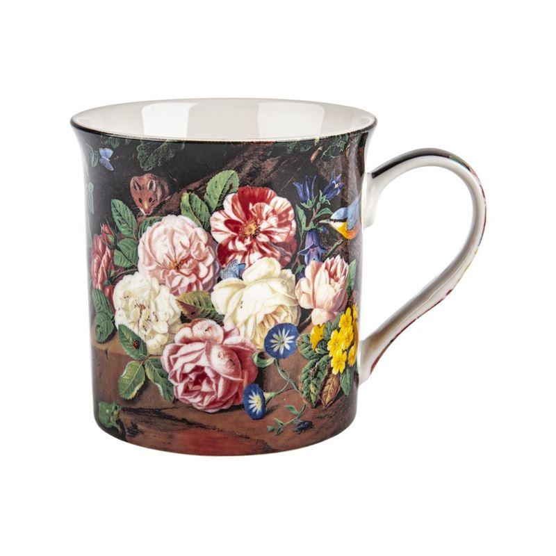 Nostalgic Ceramics – Fine China Stilll Life Flowers Mug 270ml Roses