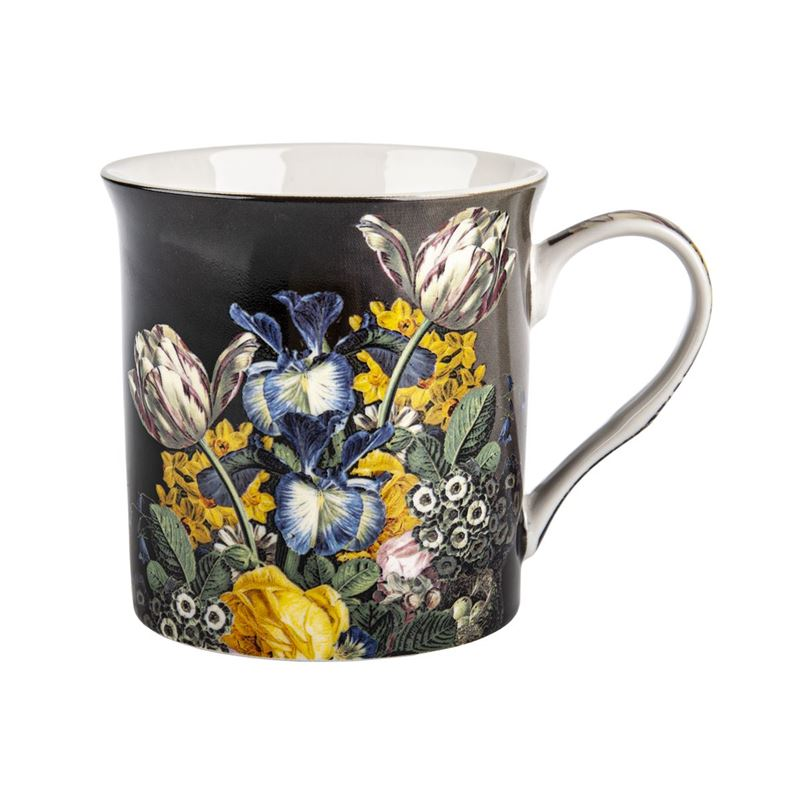 Nostalgic Ceramics – Fine China Stilll Life Flowers Mug 270ml Iris