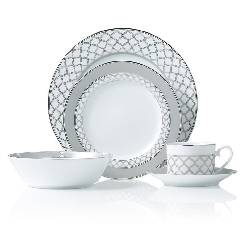 Noritake – Eternal Palace Platinum 20pc Dinner Set