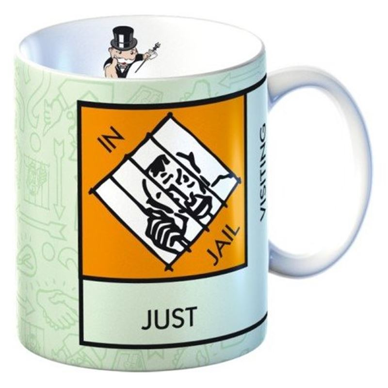 Monopoly – Mug in Gift Box Just Visiting